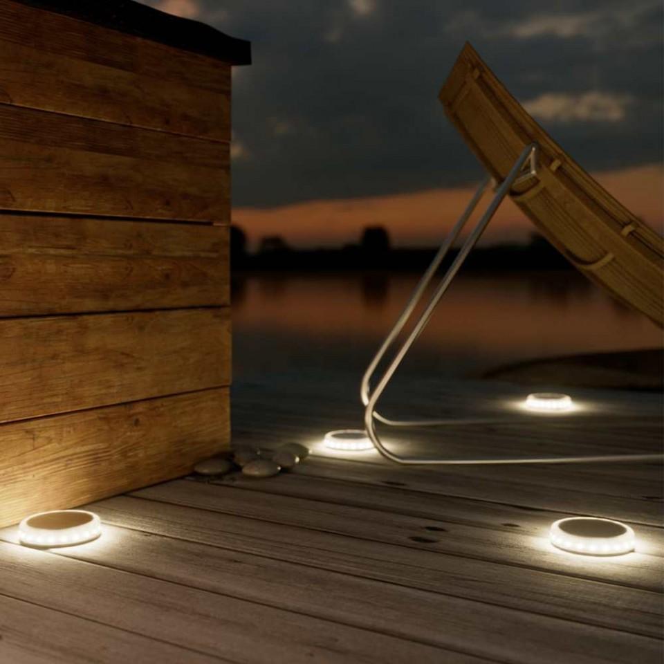 Dartmouth Solar Decking Light