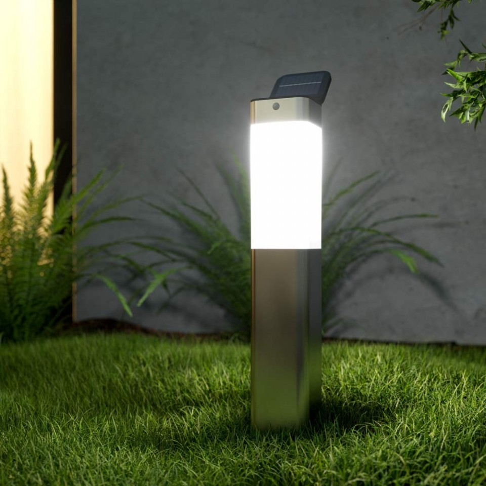 Solar Kodiak PIR Post Light