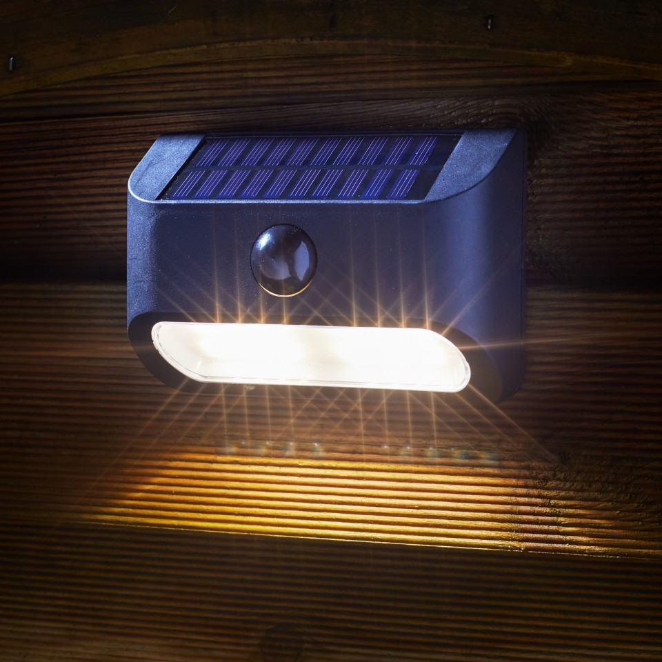 Solar Sentinel PIR Security Lights (2 pack)