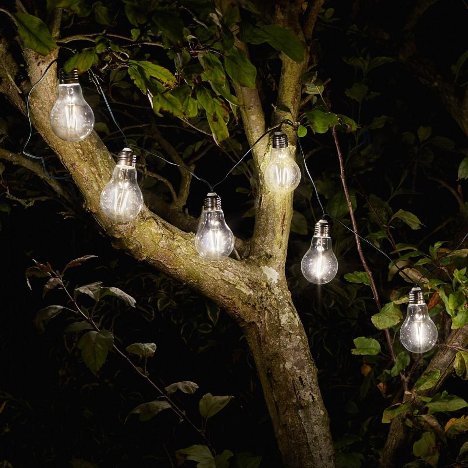 Solar Retro String Lights