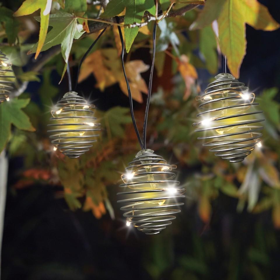 Solar SpiraLight Fairy Lights