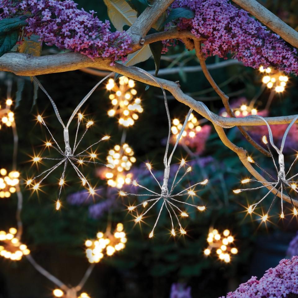 Solar Starburst String Lights