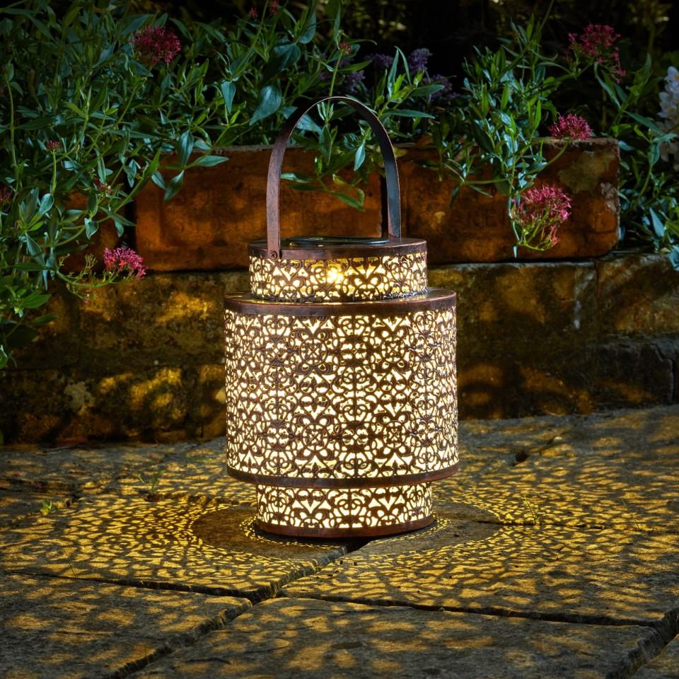 Solar Tangier Lantern