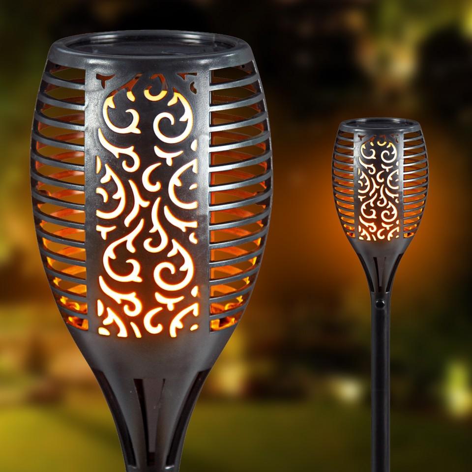 Solar Flickering Flame Garden Torch
