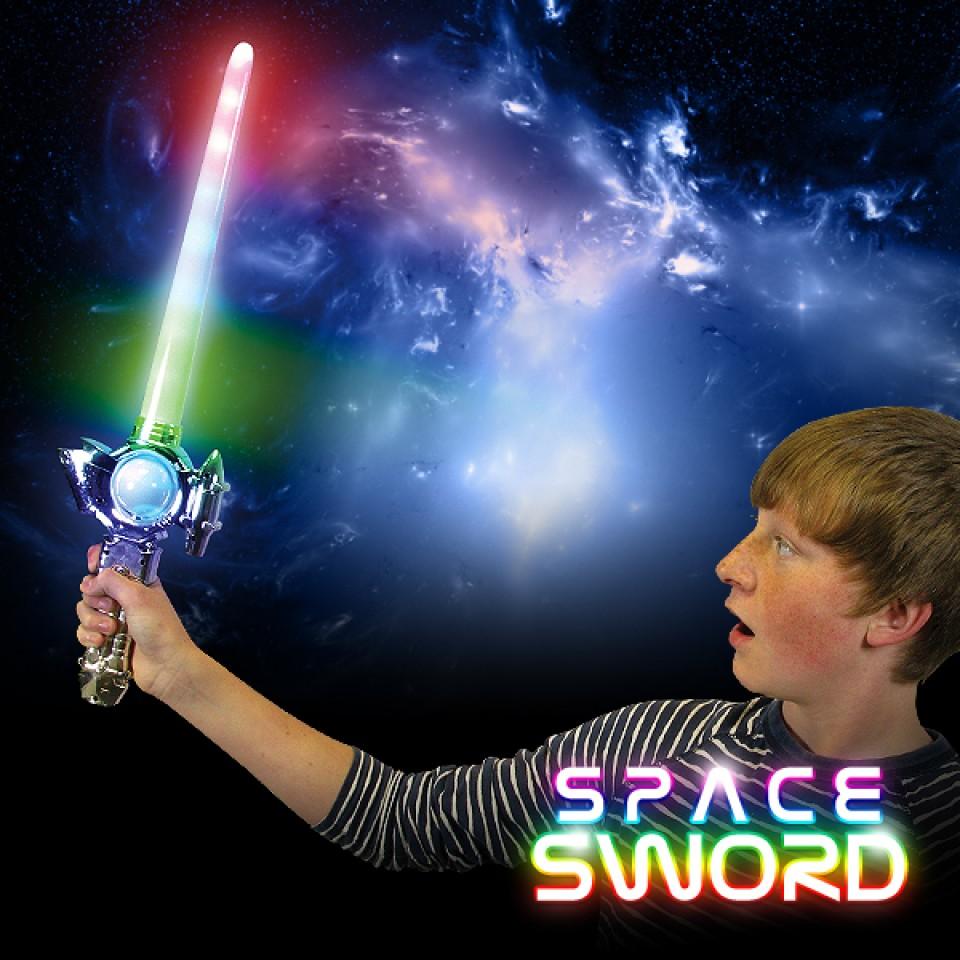 Light Up Space Sword