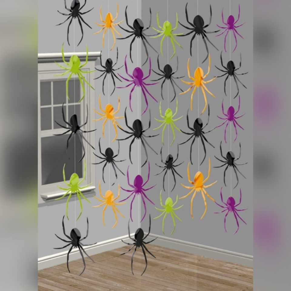 Spooky Spider String Decoration