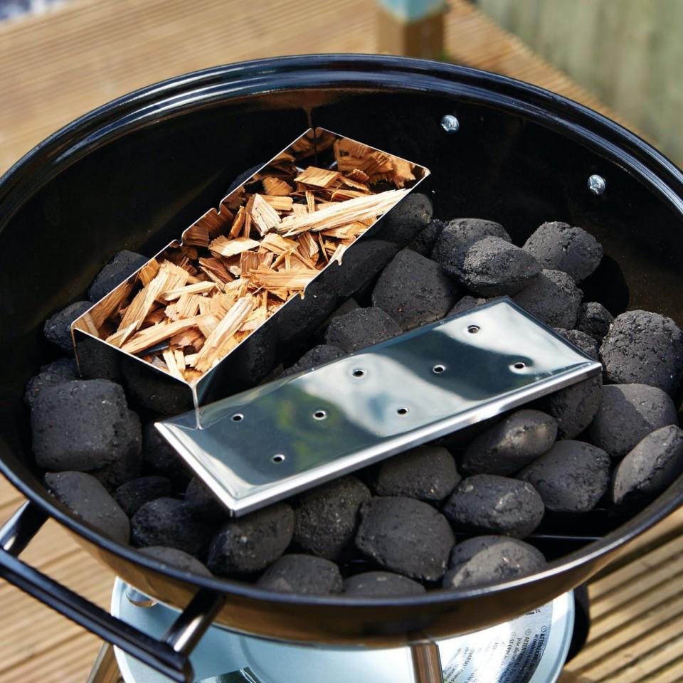 Stainless Steel BBQ Smoker Box