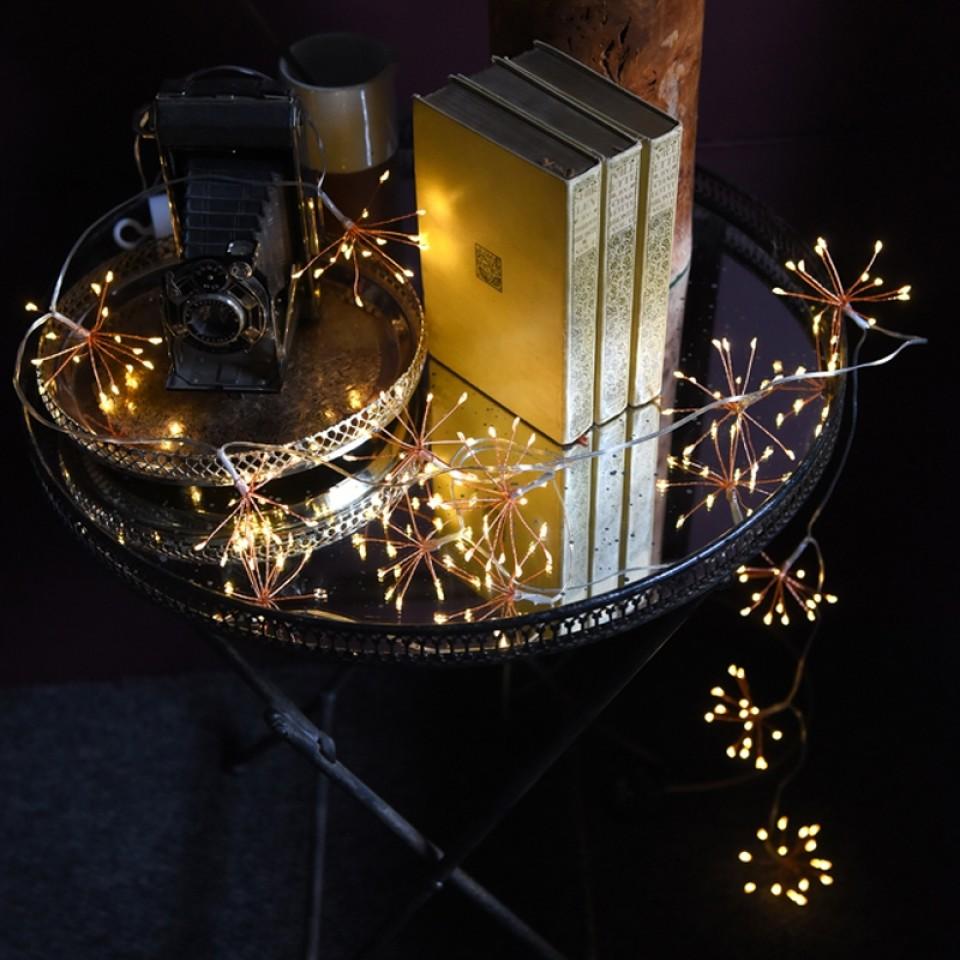 Starburst Copper Fairy Lights
