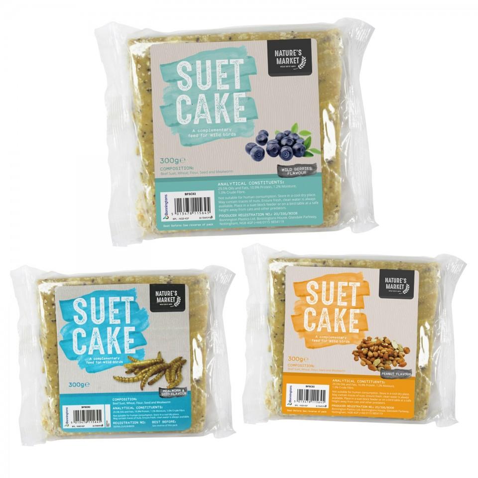 Suet Cakes for Wild Birds