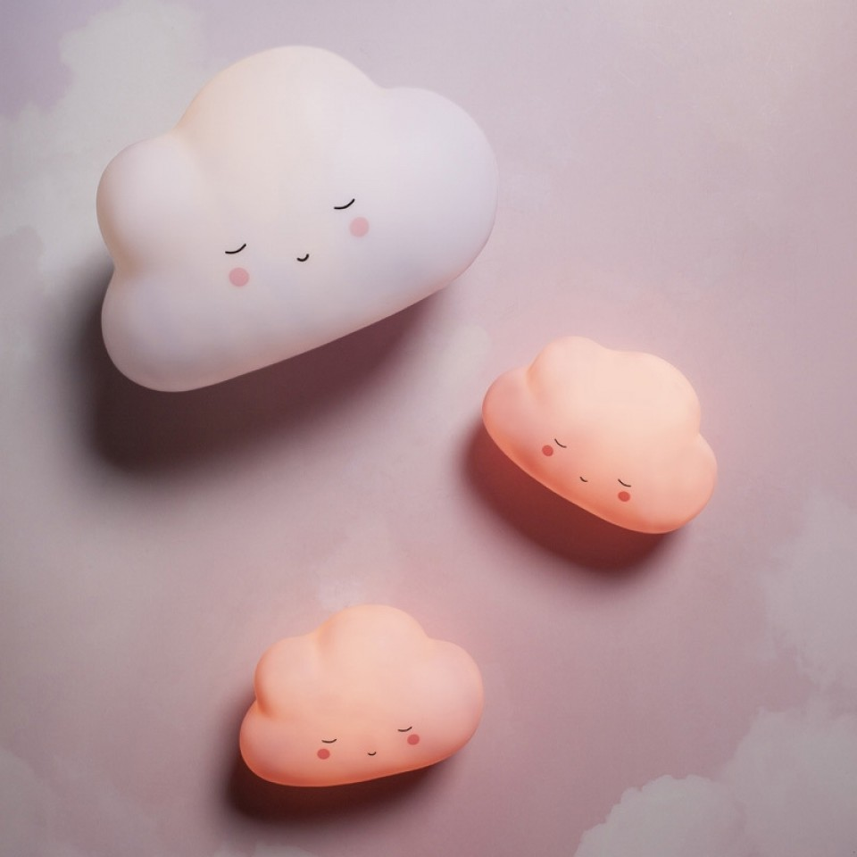 White cloud available only Cloud Tap Light White