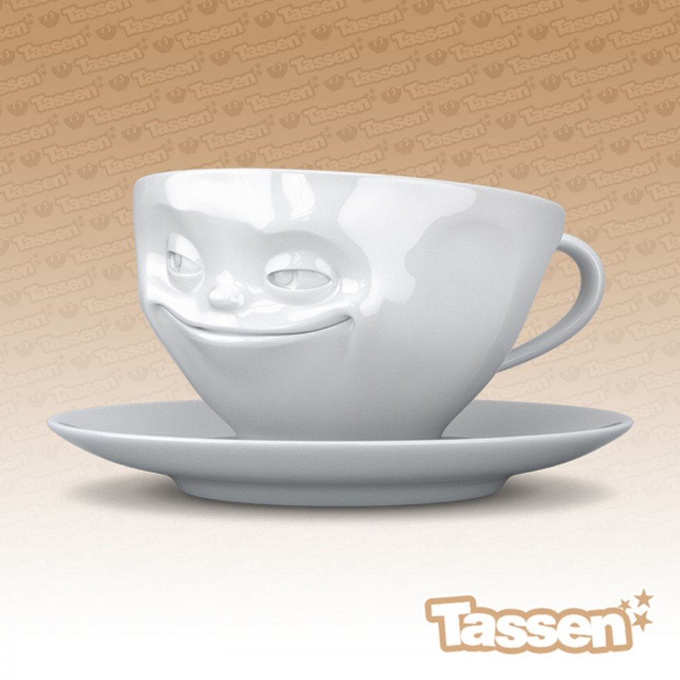 Grinning Cup Tassen Emotion Cups