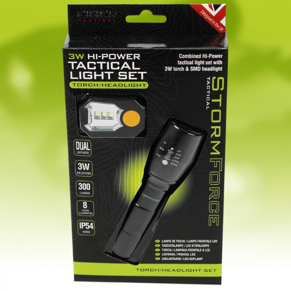 Stormforce High Power Tactical Torch Set