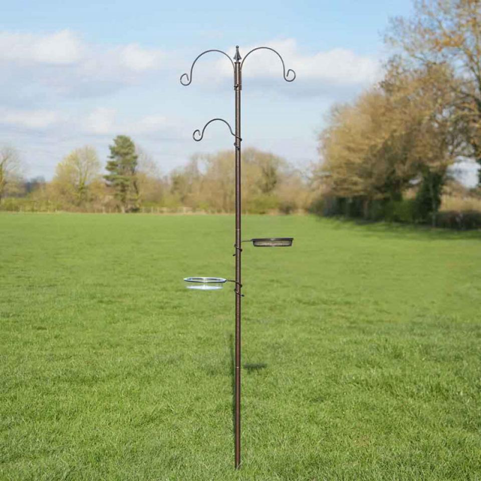 Traditional Wild Bird Feeding Station