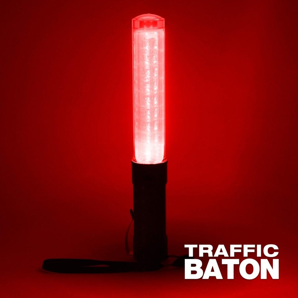 Light Up Traffic Baton & Torch