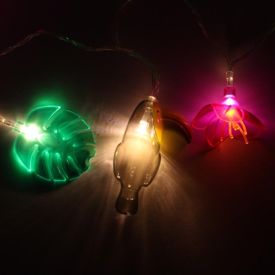 Tropical fairy lights,
