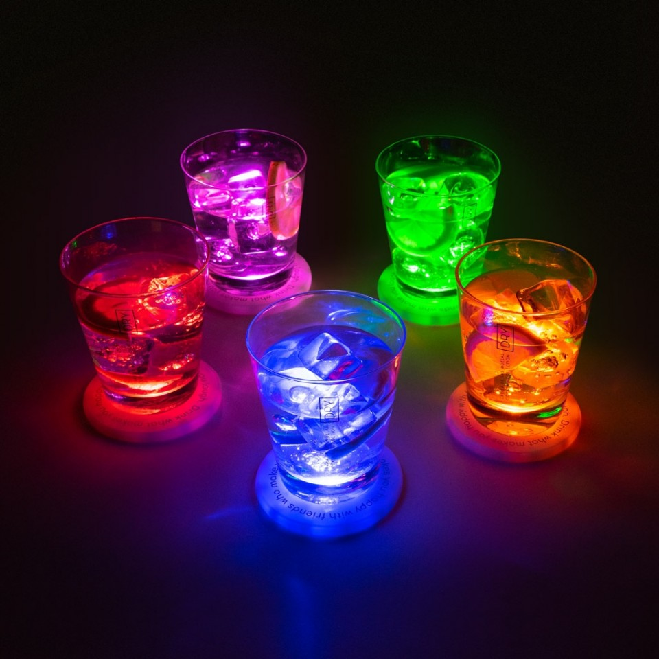 UFO LED Coasters (5 pack)