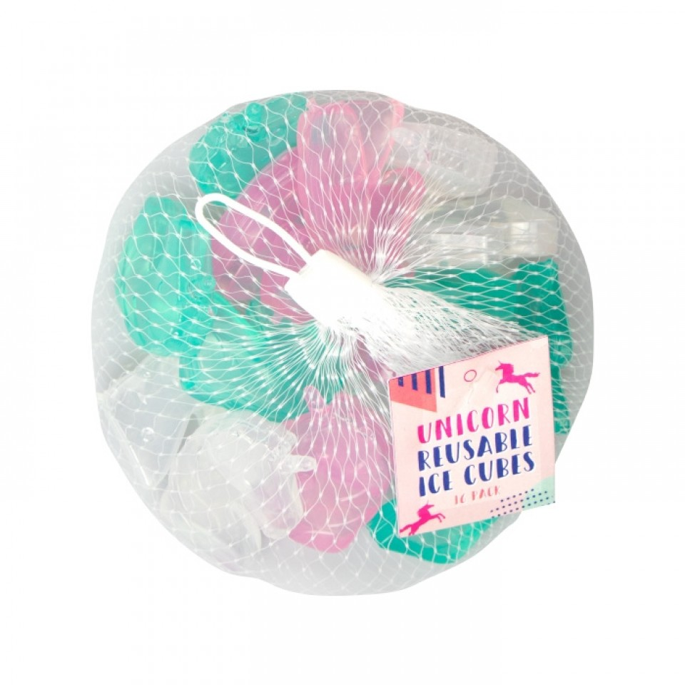 Reusable Unicorn Ice Cubes x 16