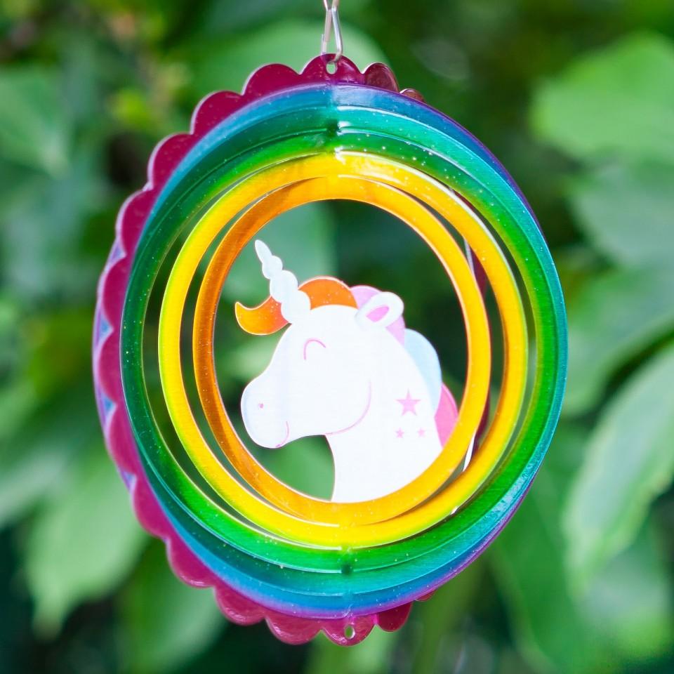 Unicorn Wind Spinner 15cm