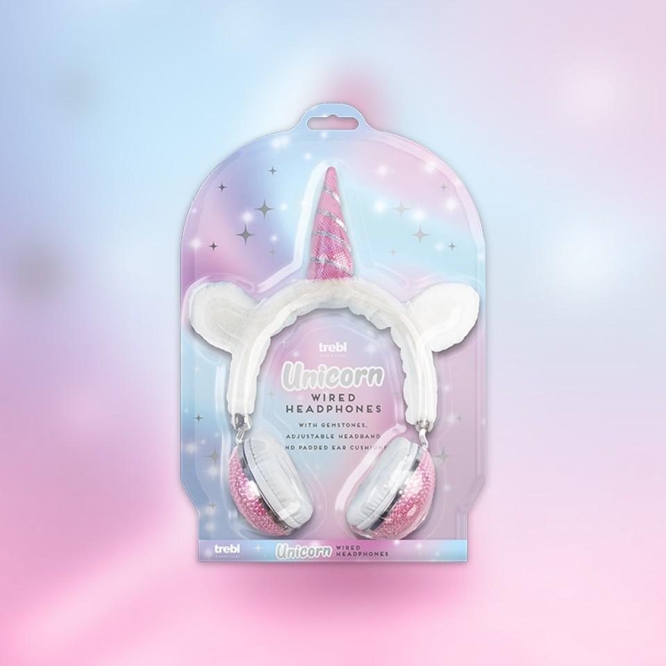 Unicorn Wired Headphones