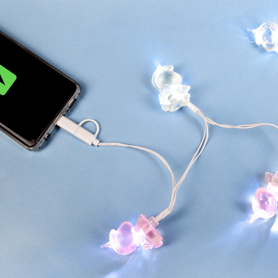 Unicorn Lights Phone Charger