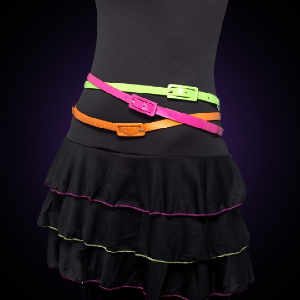Neon Belts (3 Pack)