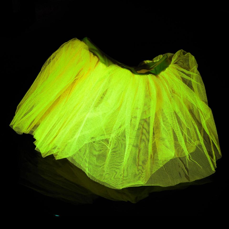 Neon Yellow Neon Tutu