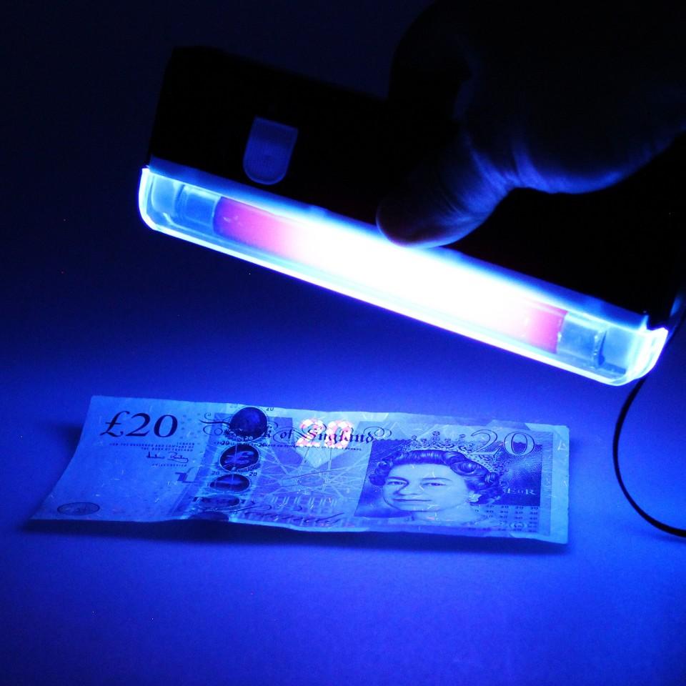UV Blacklight Torch & Money Checker