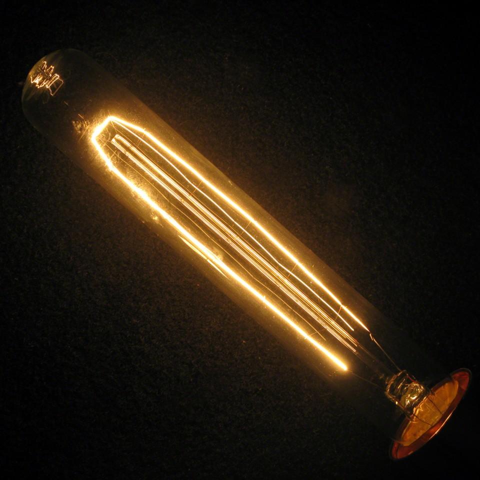 Vintage Tube Bulb E27 (ABC2506)