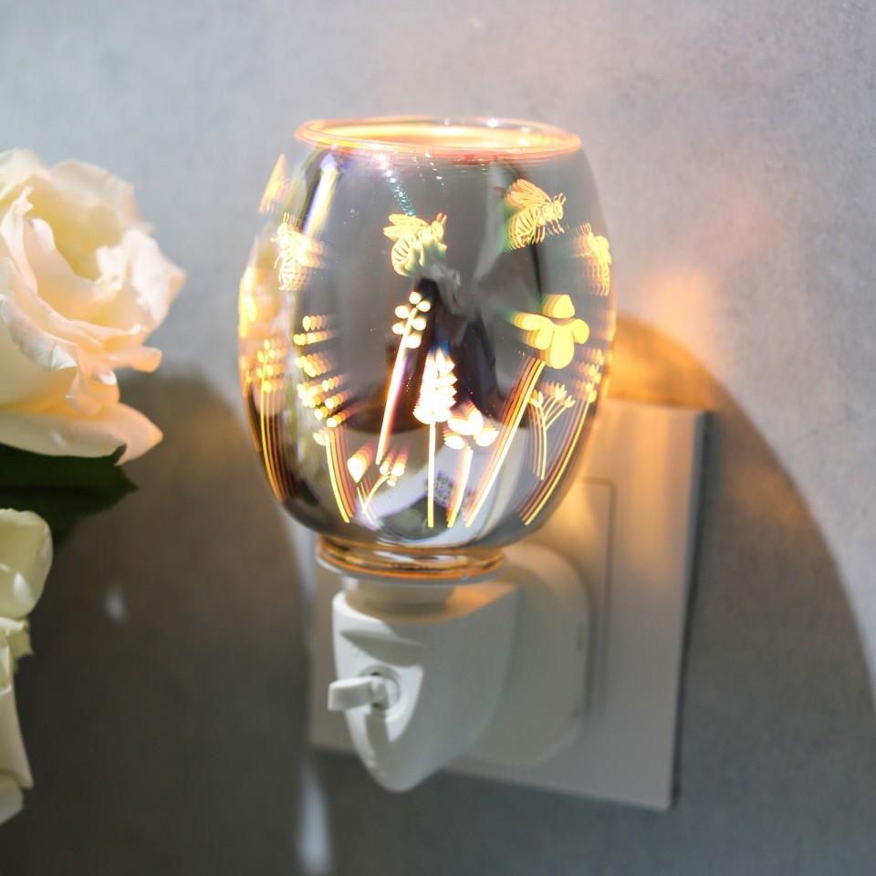 Wild Flowers 3D Plug in Oil/Wax Melt Warmer