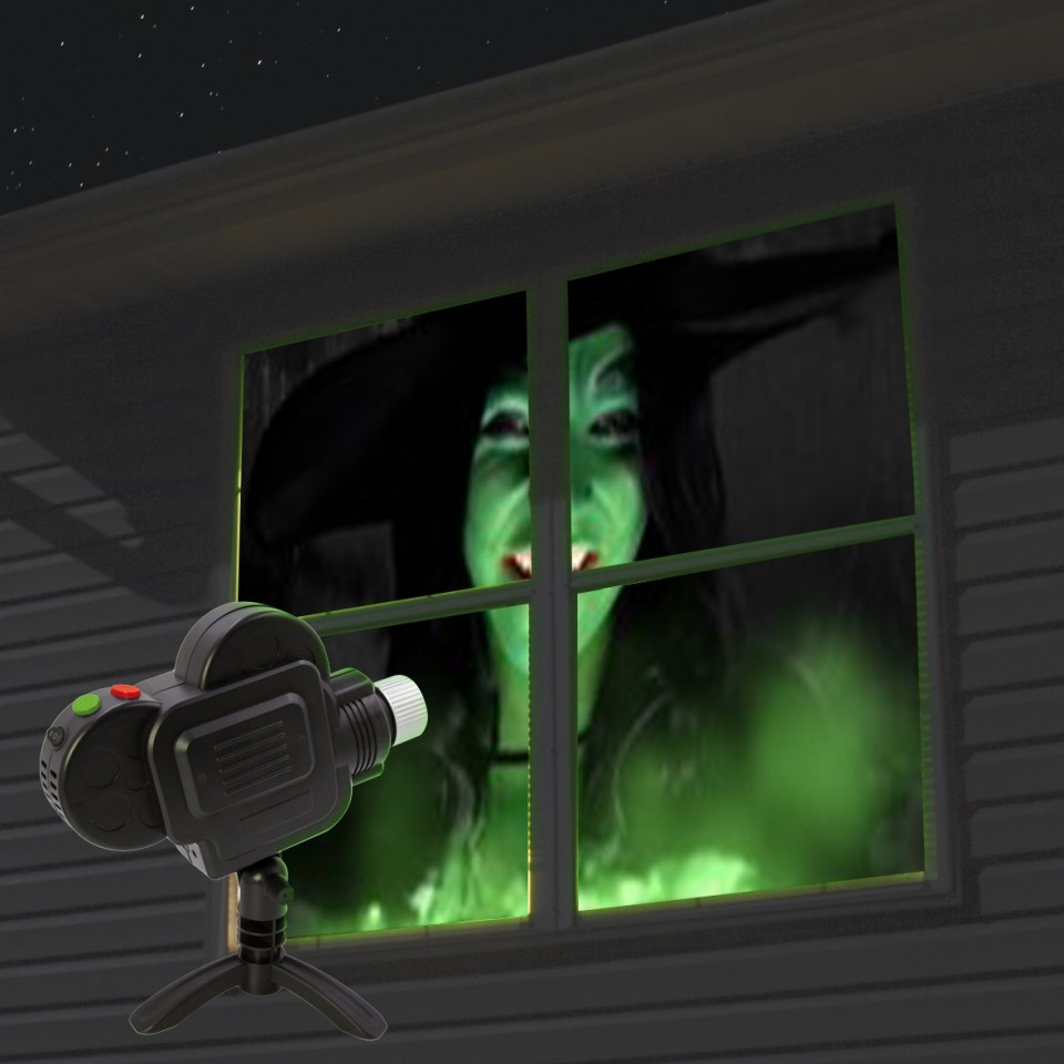 Animated Window Projector
