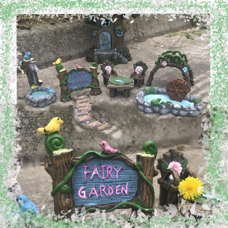 Woodland Fairy Garden Accessories