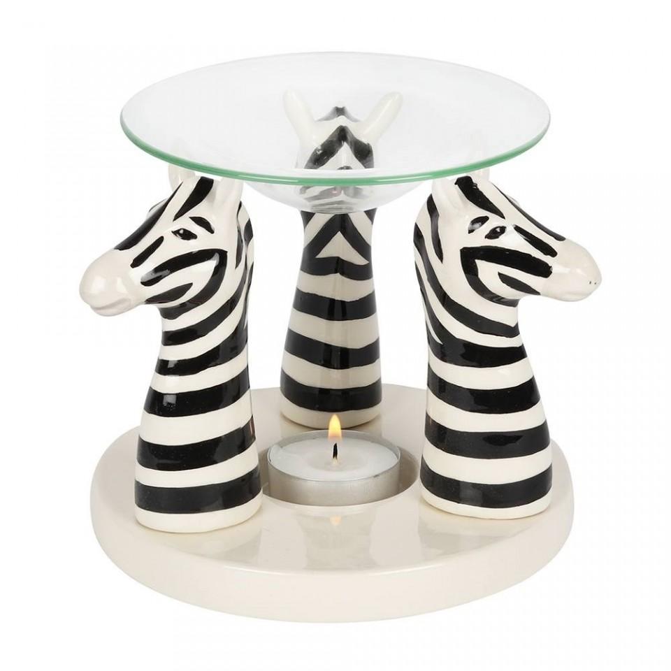 Zebra Oil Burner