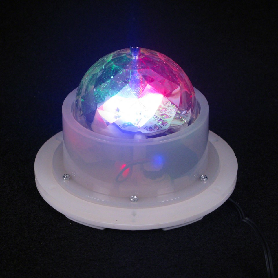 Rechargeable Colour Change Spinning Light Unit