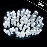 15m Star Caps White