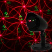 Indoor/Outdoor Xmas Laser Light Projector