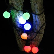 Multi Coloured Connectable Festoon Lights