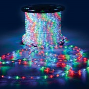50m LED Multicolour Ropelight (153.469)