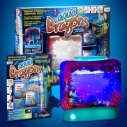 Aqua Dragons with LED Lights