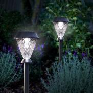 Bianca Hybrid Solar Stake Lights (4 Pack)