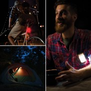 Powerlight Rechargeable Lantern, Bike Light and Powerpack