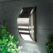 Black Nickel Motion Sensor Wall Light