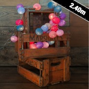 Cable & Cotton Cotton Candy Stringlights