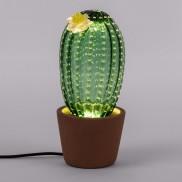 Seletti Desert Sunrise Large Glass Cactus Lamp