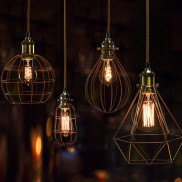 Bulb Cage Light Fittings