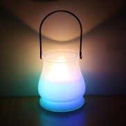 Citronella Candle in Frosted Glass Jar