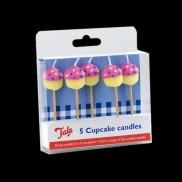 Cupcake Candles (5 Pack)