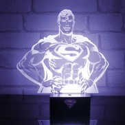 DC Comics Superman Hero Light