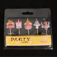 Fairyland Party Cake Candles