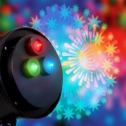 31cm Animated Firework Projector with Sound