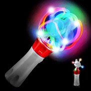 Flashing Cyclone Spinner